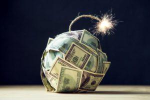 69 Billionen Dollar Weltverschuldung in einer Infografik